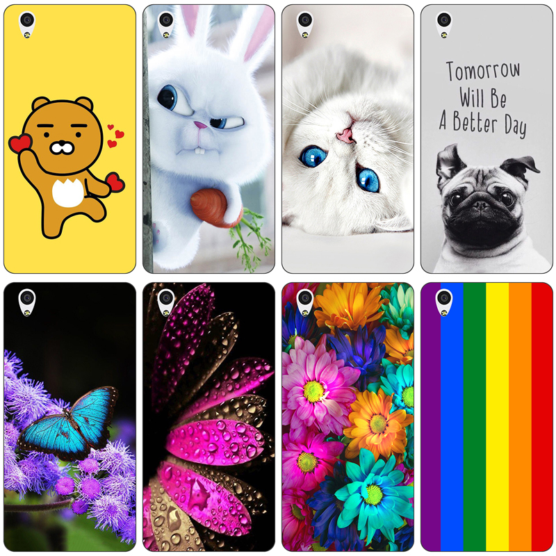 For Oneplus X Case Cover Relief Paint Back Cover for One plus X 1+X Cases Silicone Protector Cover Luxury Bags for OnePlus X