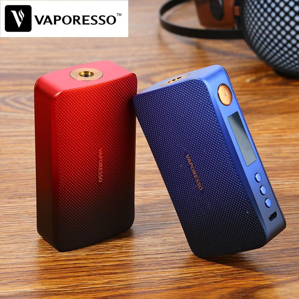 Оригинальный 220 Вт Vaporesso GEN мод Vape коробка мод Питание от двух батарей 18650 Совместимость с 510 атомайзер электронная сигарета VS люкс мод