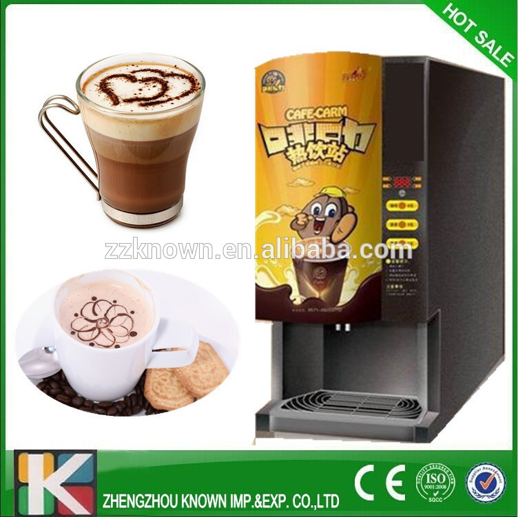 commerial instant coffee machine automatic( free shipping by sea)