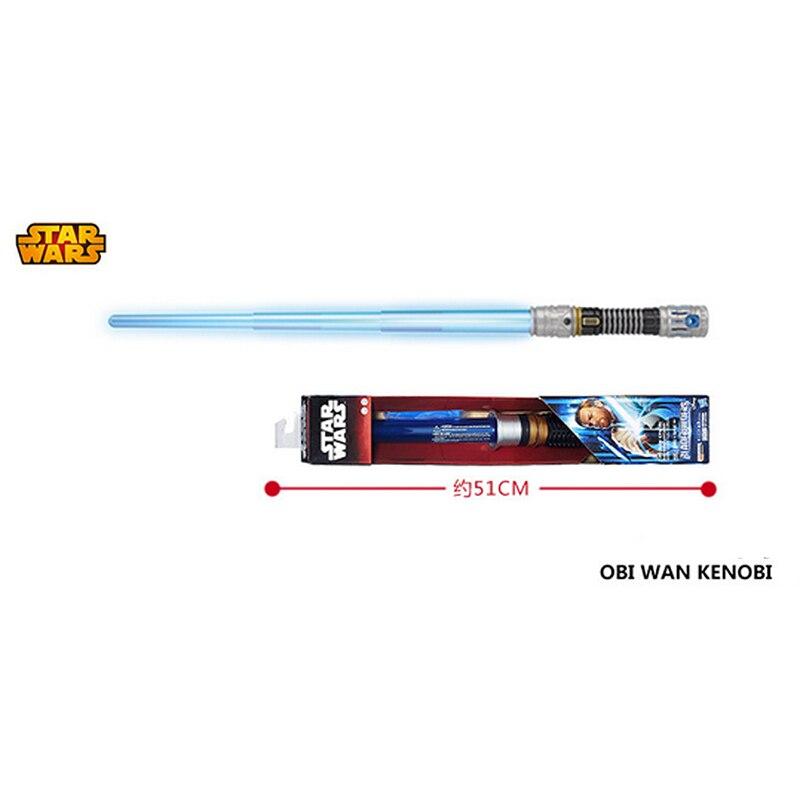 MOVIE Obi-Wan Kenobi Cosplay Lightsaber Sound Light Blue Free Shipping