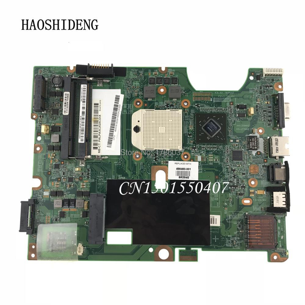 HAOSHIDENG 498460-001 for HP Pavilion CQ50 CQ60 G50 G60 series motherboard .All functions fully Tested ! 578232 001 laptop motherboard cq60 g60 sales promotion full tested