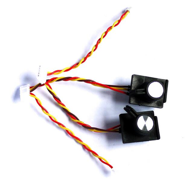 ФОТО free shipping 1pair frsky taranis x9d plus slider for frsky taranis x9d plus remote controller spare parts
