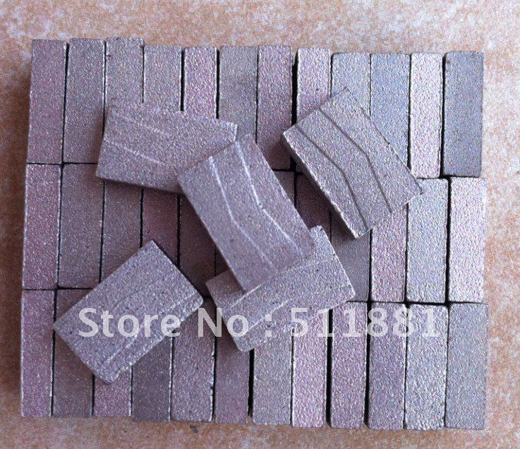 High Quality Diamond Segments For Cutting Concrete Granite | Diamond SAW Head For 2 Meters Single Cutter | 24*11.5/11*20mm