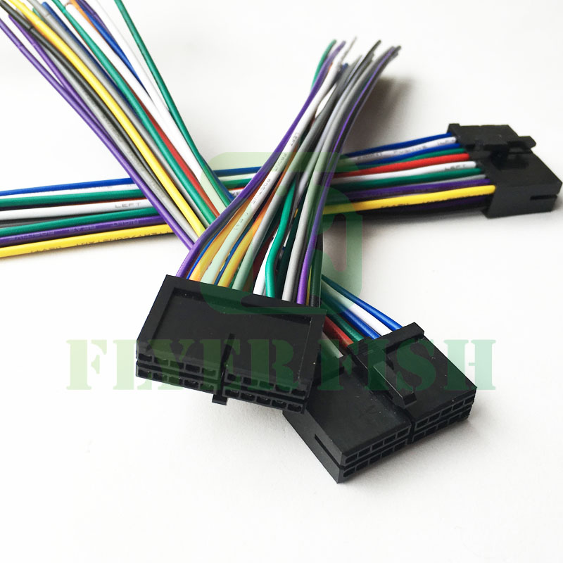 20 Pin Wire Radio Harness Power Plug For Diy Jensen Awm968 Pyle Plbt72g Pldn76db: Jensen Stereo Wiring Harness Aftermarket At Executivepassage.co