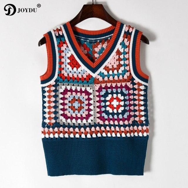 0150078d956e JOYDU Runway Design Lady s Sweater Pullovers 2018 New Vintage ...