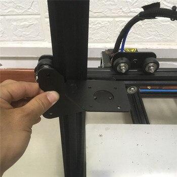 Creality CR-10S Ender 3 3D принтер двойной экструдер двойная ось Z обновление пластины комплект алюминиевый двойной экструзионный держатель