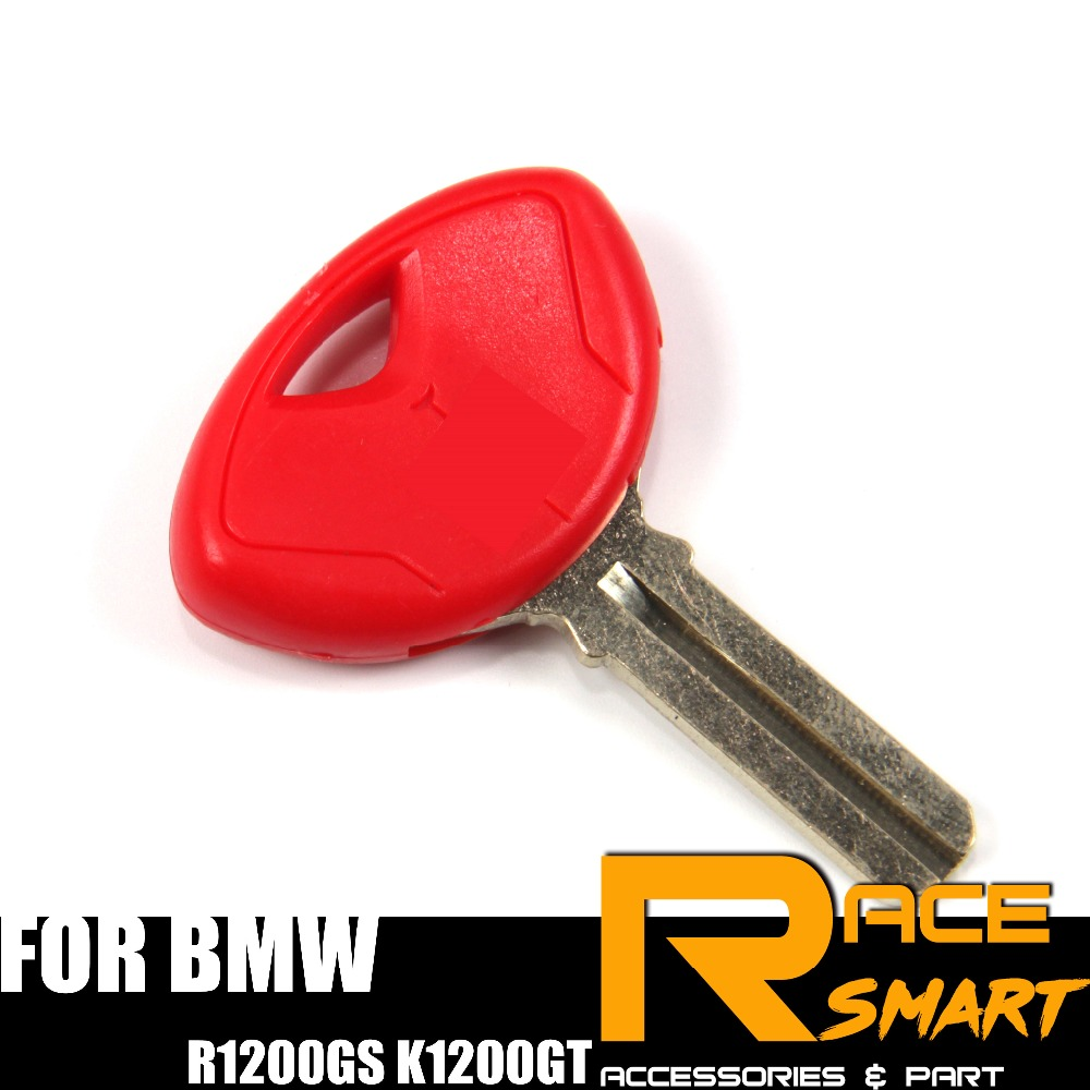 Motorcycle Uncut Blank Key For BMW R1200R K1300S R1200GS K1200GT Blade Keys Rings R-1200R K-1300S R-1200GS K-1200GT R 1200 GS