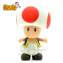 Bevle Super Mario 8cm Fashion Puppets Toad PVC Action Figure Model Kit Toy Doll Decoration