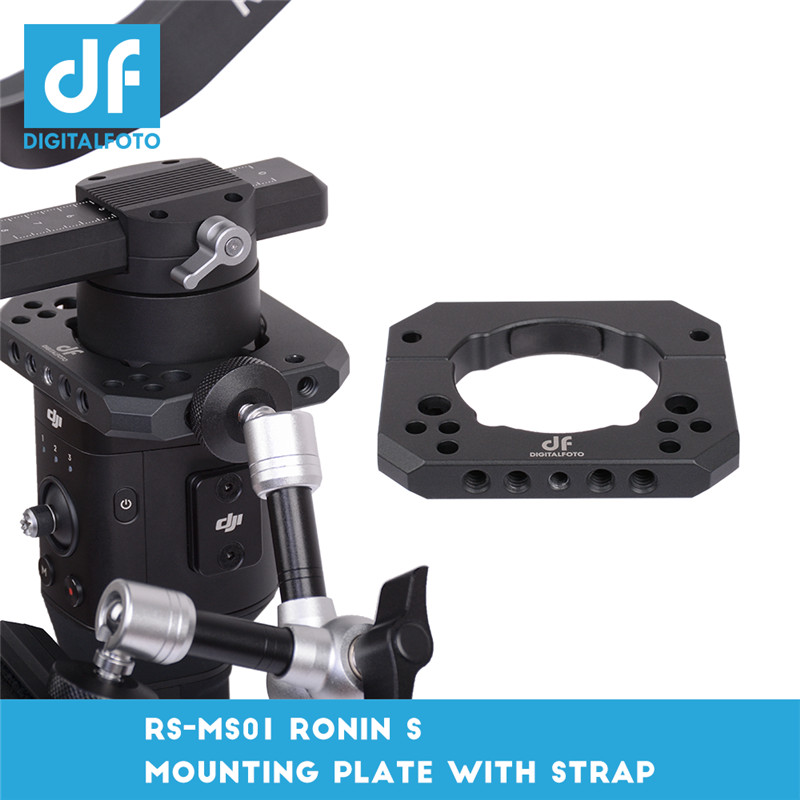 DIGITALFOTO Spider-S Monitor Mount Mounting Accessories Plate Clamp Compitable For DJI Ronin S ZHIYUN Crane 2 3 Axis Gimbal