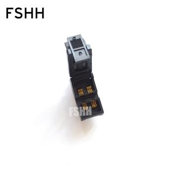 SOT-8L Burn-in Socket/IC Test Socket/IC Socket(Two placement/Flip test seat) недорого