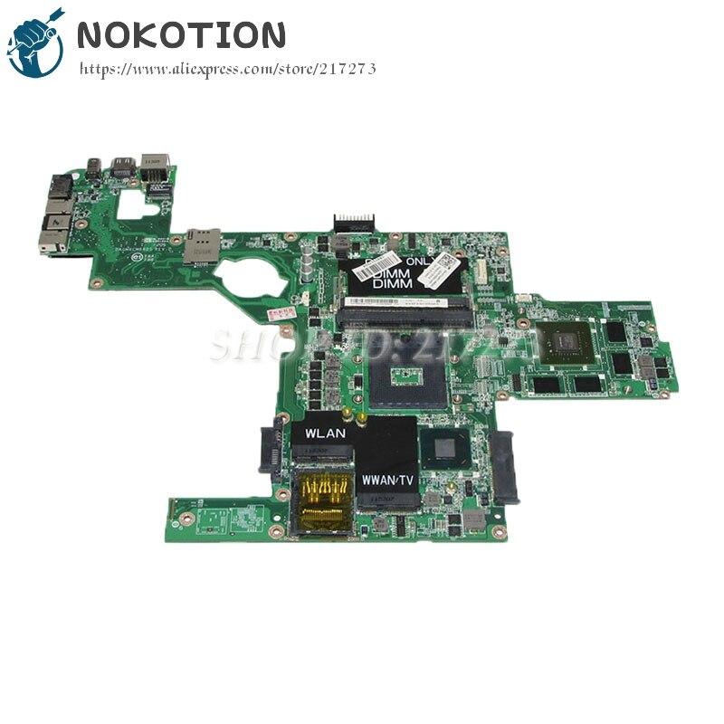 NOKOTION DAGM6CMB8D0 CN-0714WC 0714WC для Dell XPS 15 L502X Материнская плата ноутбука GT525M видеокарта HM67 DDR3