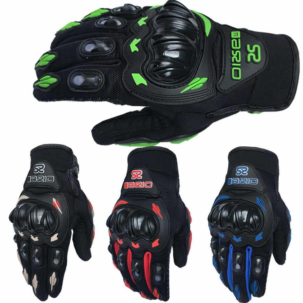 販売!!夏冬フルフィンガーオートバイ手袋gantsモトluvasモトクロスバイクguantesモトレーシンググローブ