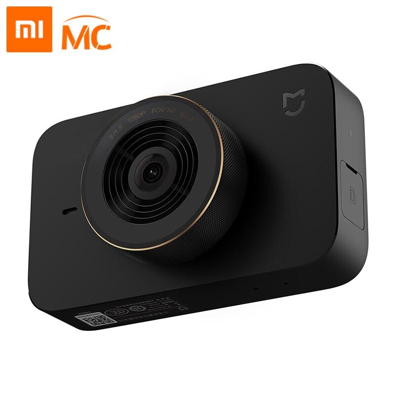 Xiaomi Mijia voiture intelligente DVR caméra Wifi commande vocale caméra tableau de bord 1080P 3 pouces HD écran 140 degrés grand Angle Auto enregistreur vidéo