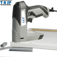 TASP 220C 45W Electric Staple Nailer Gun With 1000 Pieces Staples