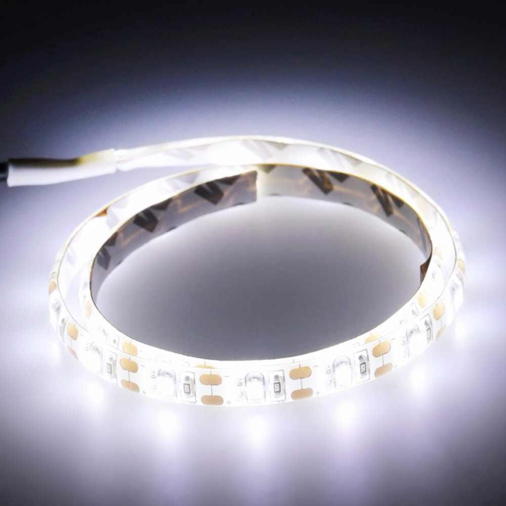 Tira de LED USB 5050 DC5V IP65 a prueba de agua/IP20 para fiesta de Navidad en interior para decoración de fondo de TV blanco, blanco cálido