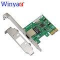 E574t winyao pci-e x1 10/100/1000 m rj45 gigabit ethernet placa de rede adaptador de servidor nic para intel 82574 expi9301ct/9301ct nic