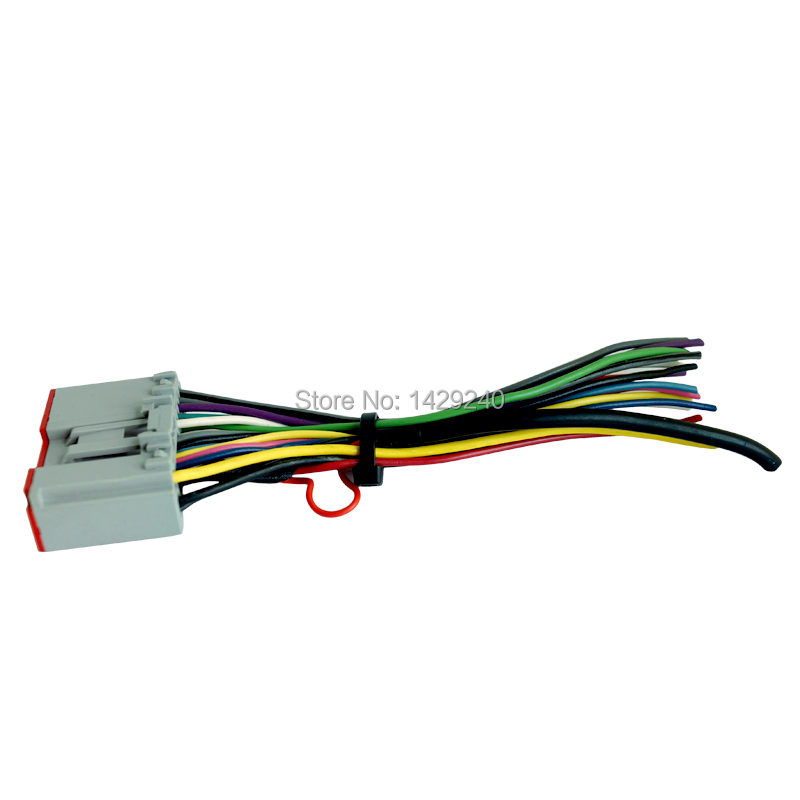 Car Radio Player Wiring Harness Audio Stereo Wire Adapter for HYUNDAI Sonata 06 08 OEM Factory aliexpress com buy car radio player wiring harness audio stereo  at et-consult.org