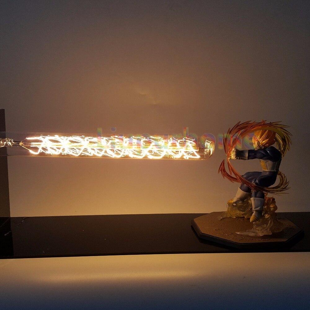 Dragon Ball Z Вегета светодио дный свет лампы пушки Дракон Мяч Супер Saiyan светодио дный настольные лампы Luces Navidad