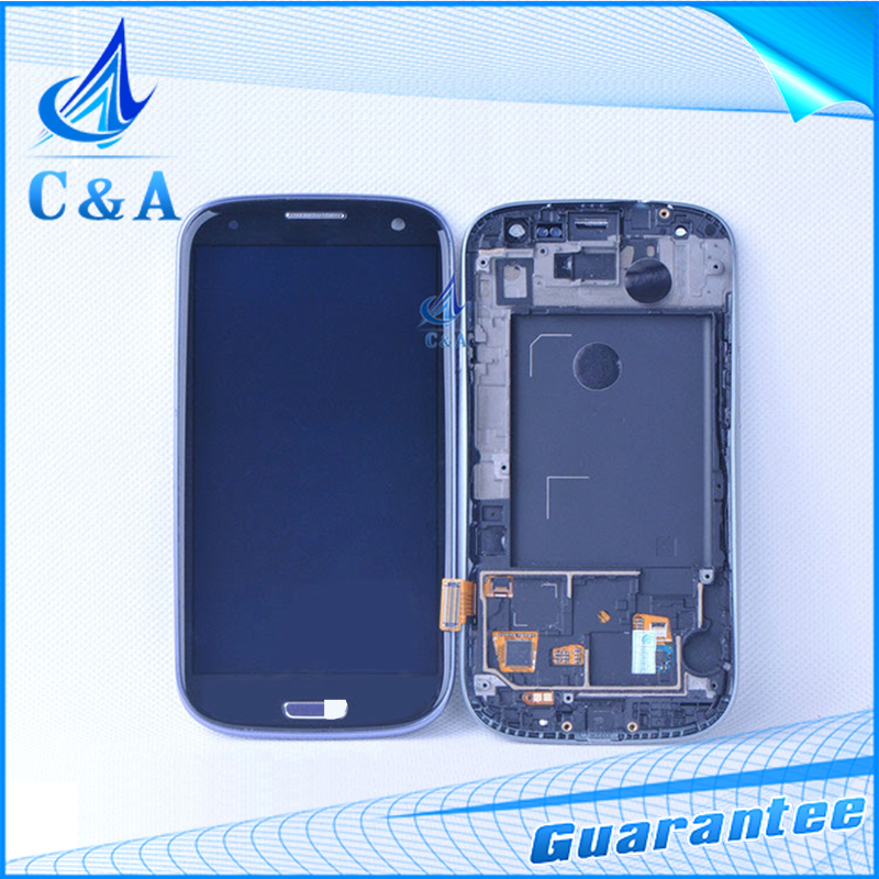 1 piece tested free shipping replacement 4.8 screen for Samsung Galaxy S3 i9305 i9300 lcd display with touch digitizer frame