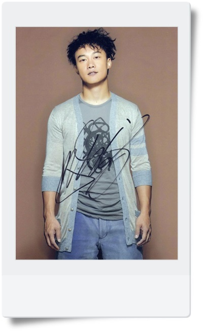 signed Eason Chan autographed  original photo 7  inches freeshipping famous singer  08201701 signed jang keun suk autographed original photo 6 inches kpop freeshipping 08201701