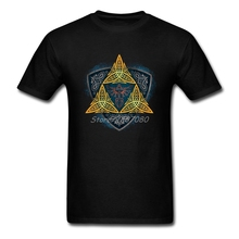 The Legend Of Zelda Insignia of the Hero T Shirt Cotton Short Sleeve Custom  Men's T-shirt Hiphop Party XXXL Mens T Shirts