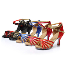 Brand New Women s Dance Shoes Heeled Tango Ballroom Latin Salsa Dancing Shoes For Women Hot