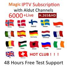 Germany Dutch Turkey Spain Portugal France Italia Iptv Signature Iptv Adult M3u subscription For G1 G2 GTS Smart TV Android(China)