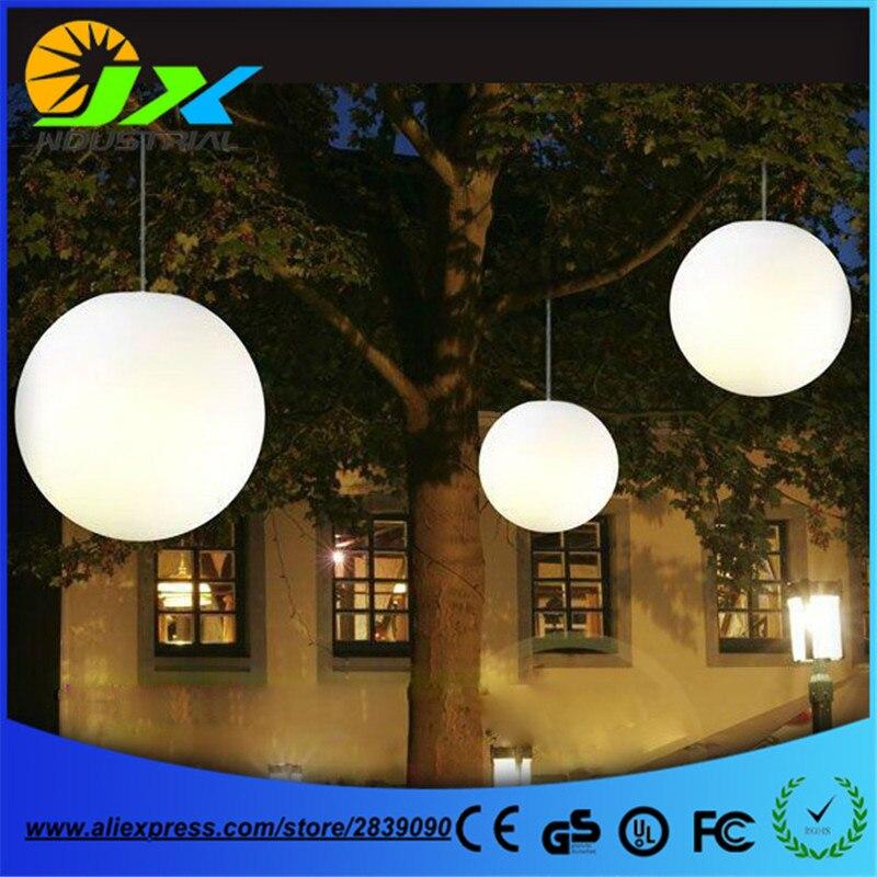 Free shipping led droplight pendant chandelier ball 20cm led floor garden light ,led floating pool ball lamp 20/30/40/50/60cm
