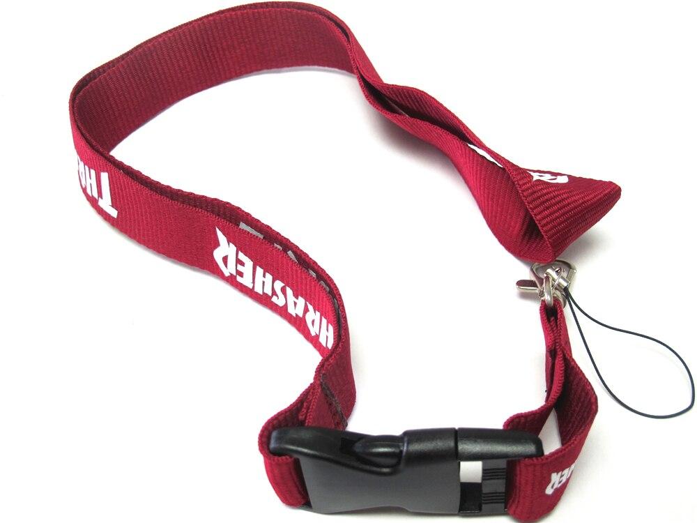One PC Men Key Strap Lanyard ID Badge Holders Neck lanyard for Keys Phone Straps steel casing pipe