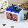 Mischief Piggy Bank Automatic Electric Stole Coin Box Dinosaur Money Box Funny Toy Piggy Bank Kid Children Birthday Gift Digital