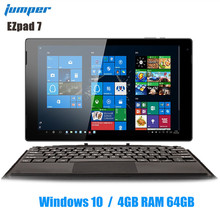 Jumper Ezpad 7 2 in 1 Tablet PC 10.1 inch Windows 10 1920*1200 Cherry-T Z8350 Qu