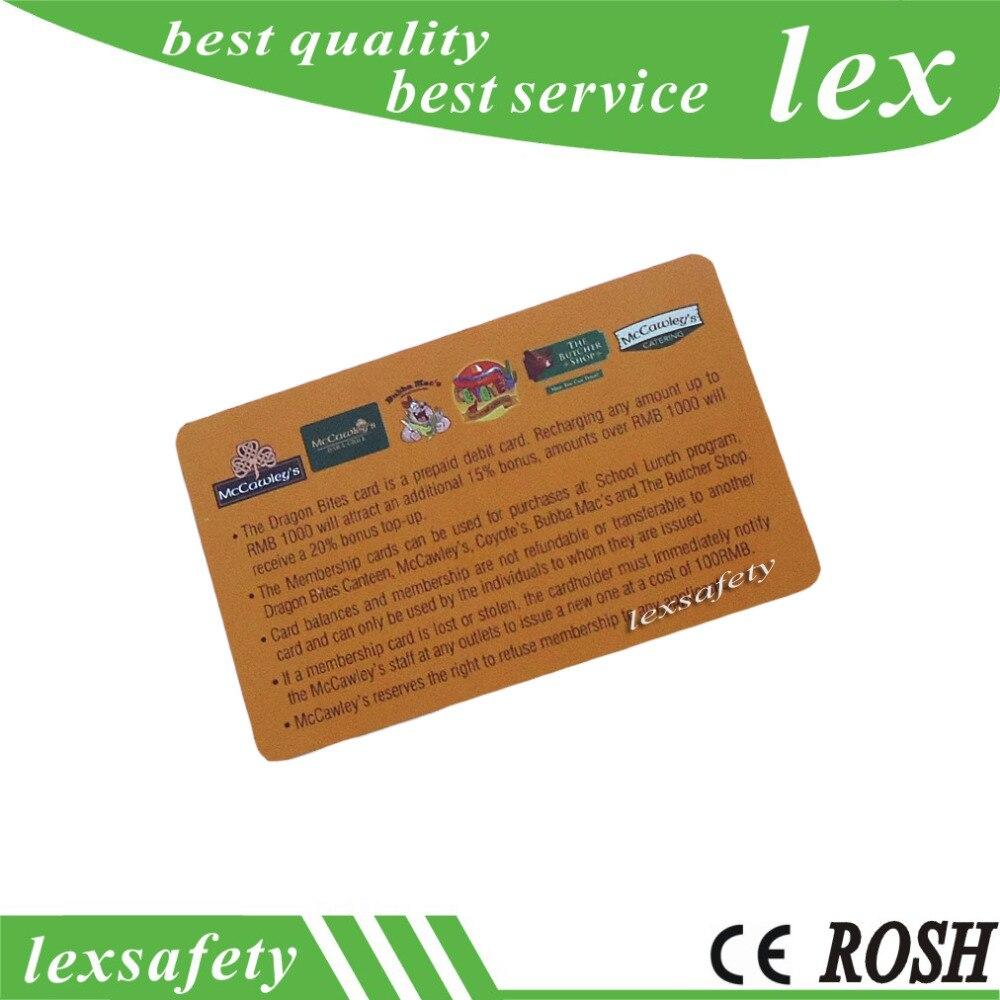 300pcs lot 13 56mhz smart chip NFC213 nfc card iso14443a proximity nfc rfid card print pvc