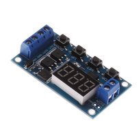 Trigger Cycle Timer Delay Switch Circuit Board MOS Tube Control Module 12 24V 0406