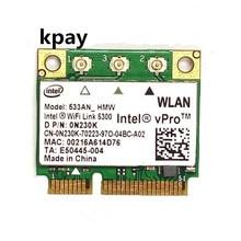 Intel WiFi Link 5300 533AN_HMW 5300AGN 0N230k 802.11a/g/n 2.4G e 5G 450Mbps mini PCI E per Dell Toshiba Shenzhou ASUS Acer Computer Portatile