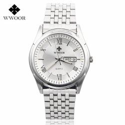 Wwoor men watches top brand luxury date day stainless steel luminous hand hours clock sport quartz.jpg 250x250