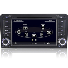 7″ Capacitive Touch Screen HD 1080P Original UI 2 Din Car DVD Player GPS Navigation Canbus For Audi A3 S3 2003 2004 2005 2006
