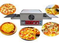 전기 컨베이어 피자 오븐 상업 12 인치 피자 오븐 220V 대형 디스펜서 케이크 빵 피자 기계 CH-FEP-12 만들기