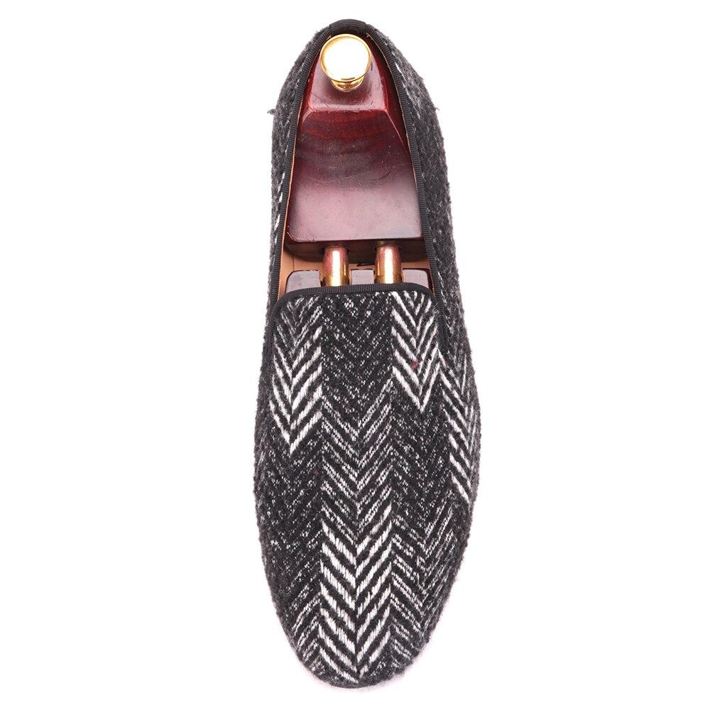 Nova Chegada Mocassins Branco Cores Masculinos 2017 Sapatos Clássico Algodão Preto Casamento Misturadas Luxuoso Homens Loafers E Handmade De Vestido TFxw1w