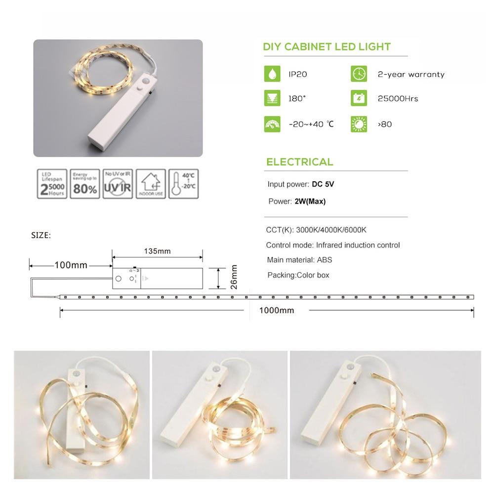 Tiras de Led de movimento ativado luz da Motion Light : Lights With Motion Sensor