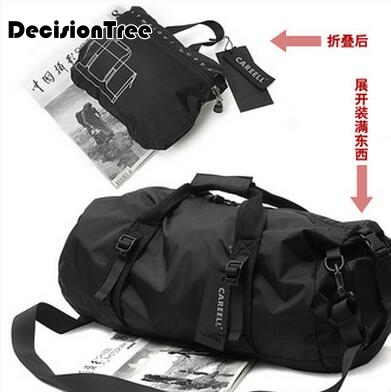 Men and Women Travel Bags Large Capacity Luggage Travel Duffle Bags Oxford Cloth Big Travel Handbag Waterproof Folding Bag