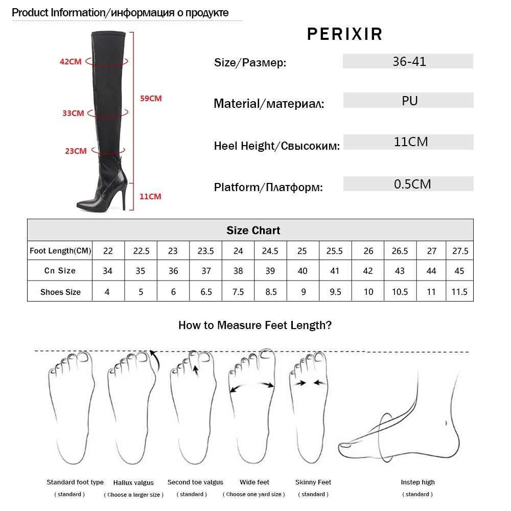 2018 ฤดูใบไม้ผลิ/ฤดูใบไม้ร่วงใหม่ผู้หญิงรองเท้ายืดต้นขาสูงรองเท้าแฟชั่นเข่ารองเท้ารองเท้าส้นสูงรองเท้าผู้หญิง Sapatos