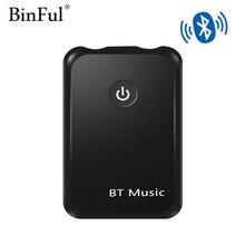 Binful, включающим в себя гарнитуру блютус и флеш-накопитель USB 4,2 передатчик/приемник, 2-в-1 Беспроводной 3,5 мм аудио адаптер для Главная звуковой Системы автомобильный стерео Системы