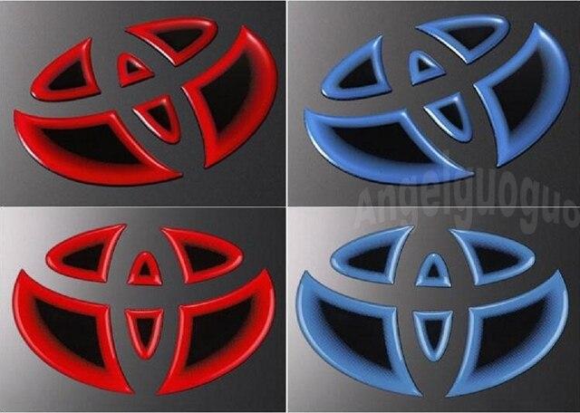 Angelguoguo mobil sticker logo depan mobil stiker mobil belakang logo stiker steering wheel