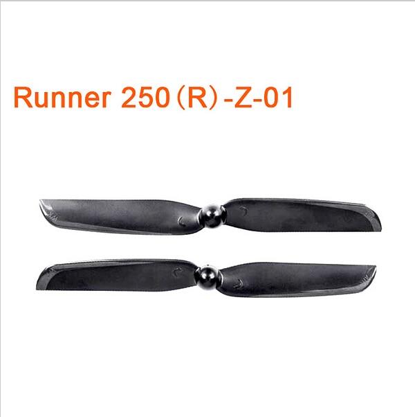 F16482 1 Pair Original Walkera Runner 250 Advance Propellers Spare Parts Propeller Set CW/CCW Propeller Runner 250(R)-Z-01