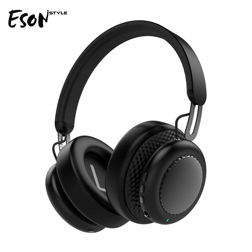 Eson S9 Active Noise Cancelling Headphones Over ear Wireless Bluetooth Headset 3D Stereo with Mic for xiaomi android phone shoot 4 0 wireless bluetooth headphones for iphone xiaomi noise cancelling built in microphone mobile headset for android phone