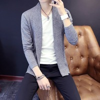 Free shipping New Fashion 2018 Spring Autumn men Wool Cardigans Man Sweaters Cardigans