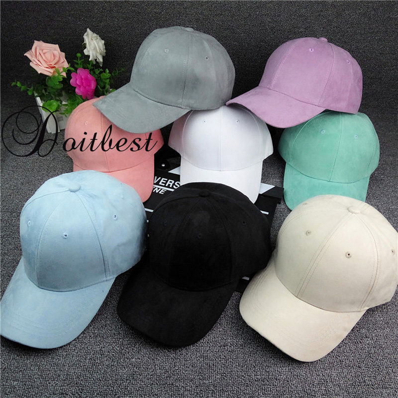 2018 Spring Women Baseball Velvet Cap Soft Fashion Hats for Men Teens Hip Hop Solid Vintage Warm Mens Baseball Caps Autumn hat warm winter beanies solid color hat unisex warm soft beanie knit cap hats knitted gorro caps for men women 5 colors 31