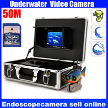Transportable 50m 600TVL Digicam HD Coloration Underwater Video Monitor with DVR For Fishing/Exploring,DVR fish digicam,waterproof digicam
