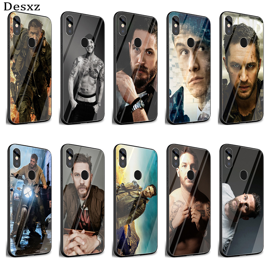 Gerleek Glass tom hardy Special Offer Luxury <font><b>Vertical</b></font> <font><b>Case</b></font> Cover for <font><b>Xiaomi</b></font> <font><b>Mi</b></font> <font><b>8</b></font> Lite 9 A1 A2 Redmi Note 5 6 7 Pro 6A 4X F1 image