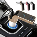 Bluetooth FM Transmitter Car Charger Flash Drives Music Player SD and USB Charger 3 Colors